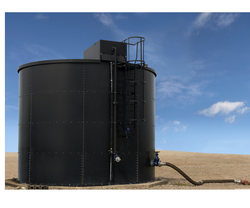 Black Oil Storage Tank