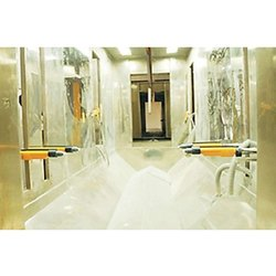 Aluminium Electrostatic Powder Coating Booth, Cross-Flow Type, Automation Grade: Semi-Automatic