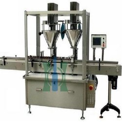 Two Head Auger Powder Filling Machine