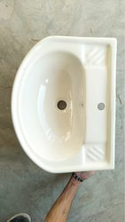OPPOWARE Wall Mounted Table Top Wash Basin, For Bathroom