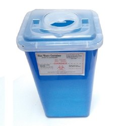 Sharp Knife Needle Safe Disposal Container 12 Litre For Hospitals