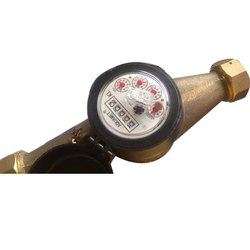 Analog Brass Aquamet Water Meter