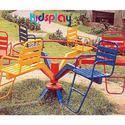 Outdoor Play Merry Go Round - Revolving Whirlr-902