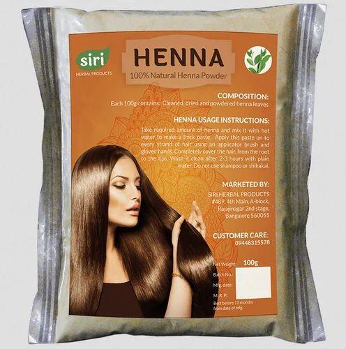 bccd8f47a Siri Herbal Henna 100g X 5, Pack Size: 100g, Rs 400 /pack | ID ...