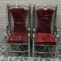 Stainless Steel High Back Chair