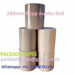 Packsol 288mm Bopp Transparent Jumbo roll