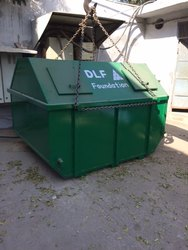 MS WASTE CONTAINER 1100 LITER