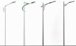 Swaged Steel Tubular Poles
