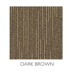 Printed Rectangular Solarbrite Splendour Dark Brown Floor Carpet
