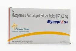 Mycept S 360mg Tab Mycophenolic