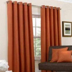 Brown Cotton Curtains