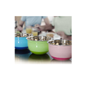 Extra Deep Mixing Color Bowl W/Silicone Base