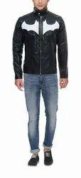 Full Sleeve Black Genuine Leather Jacket