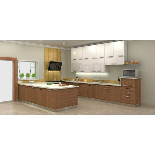 U Shape Modular Interior Kitchen