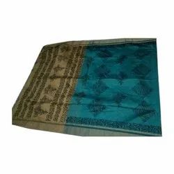 Laxmi Printing Party Wear Fancy Printed Cotton Saree, 6.3 m (with blouse piece)