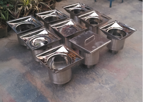 Stainless Steel Floor Drain Traps - Floor Drain Trap
