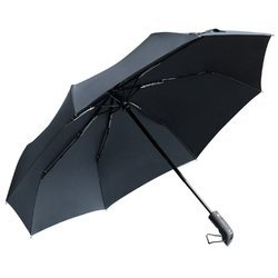 Black Polyester Umbrella