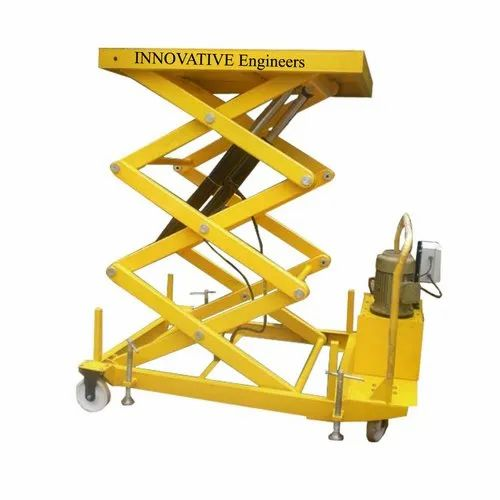 Motorized Scissor Lifts