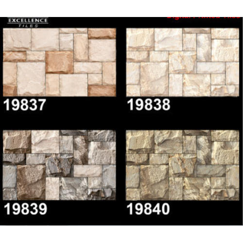 Ceramic 3d Elevation Wall Tile Size 12 X 18 And 24