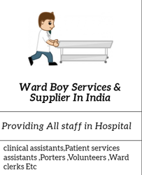 Ward Boy Services & Supplier In India