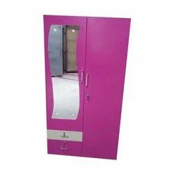 Pink SS Steel Cupboard