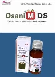 Ofloxacin 100mg Metronidazole 200mg/5ml  Suspension