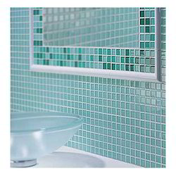 Bathroom Crystal Glass Mosaic Tiles