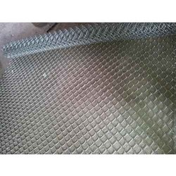 Silver Galvanized Iron Chain Link Fencing