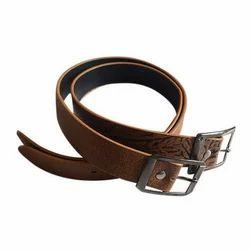 Hipstar Brown Mens PU Belt