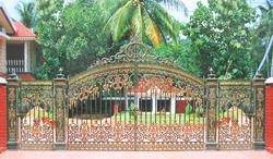 Cast Iron Gates for Bungalows
