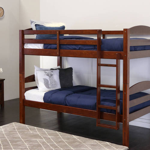 Brown Sheesham Wood Bunk Bed Dimension 38 X 82 X 60 Inch