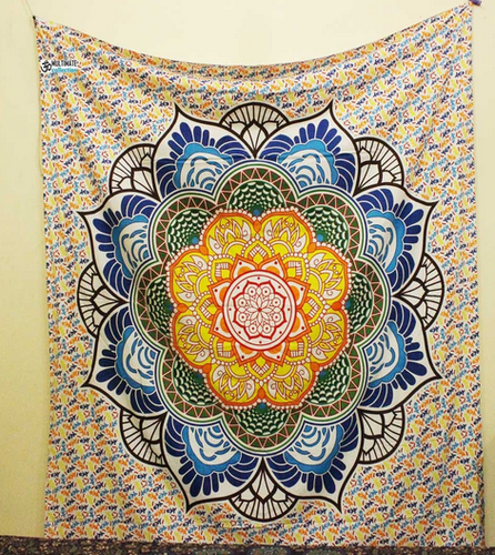 Lotus Flower Large Tapestry View Specifications Details Of