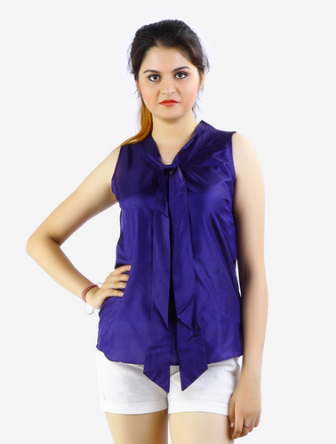 d8e1ce5b7fbf5d Women Tops - Anchored Full Sleeve Cotton Top Manufacturer from Dehradun