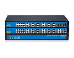 IES1024 Series: 24-port 100M Layer 2 Unmanaged Industrial Ethernet Switch