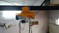 Damar Without Trolley Electric Wire Rope Hoist, Capacity: 0-1 ton