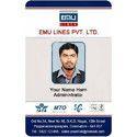 Office Plastic ID Card