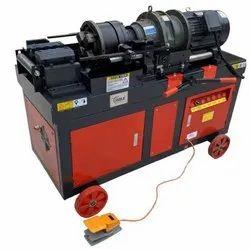 Orange Automatic Thread Rolling Machine