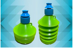 Grippy Plastic Prnik Plast Collapsible Drinking Water Bottle, Capacity: 500 Ml,1 Ltr
