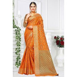 Festival Wear Cotton Saree