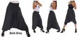 Attic Cotton Harem Trouser, Size: XS, Waist Size: 28.0