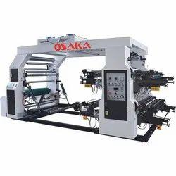 Osaka Multi Color Roll To Roll Flexo Printing Machine