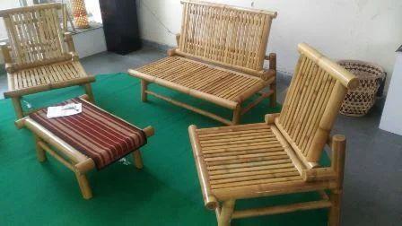 Bamboo Sofa Set Furniture