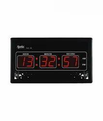 Black Plastic Ajanta Digital Wall Clock, Model Name/Number: Olc 30, Size: L327 X W 33 X H 180mm