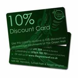 300 Dpi Plastic Discount Cards Printing Service, Delhi,Ncr