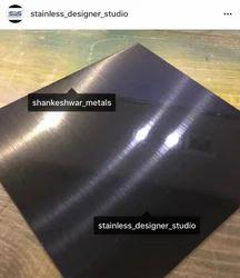 Stainless Steel 304 Black Finish Sheet