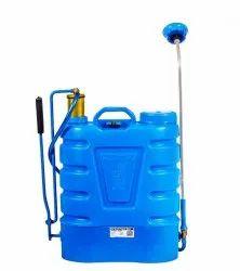 Sanitizing spray pump