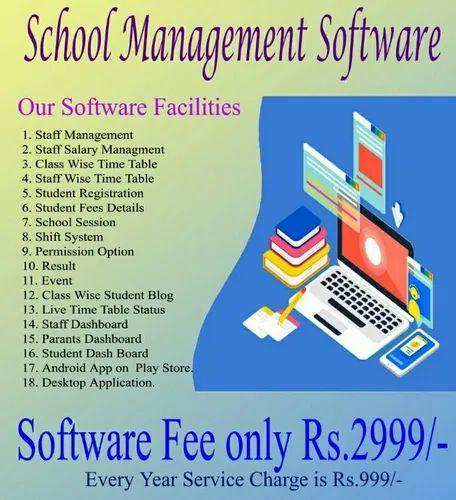 School Management Software Mobile Application Development Wholesaler From Gwalior