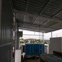 Roof Shed Fabrication