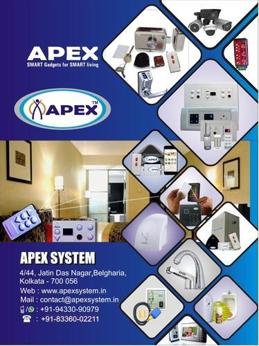 APEX Remote Controlled Door Lock, Finish Type-Stainless