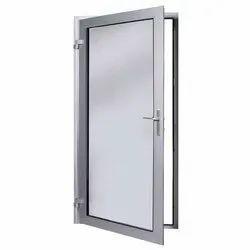 Aluminum Bathroom Door